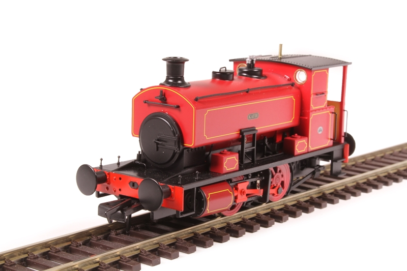 """Hattons H4-AB16-003 Andrew Barclay 0-4-0ST 16"""" 2226 """"Katie"""" in lined maroon (OO gauge)"""
