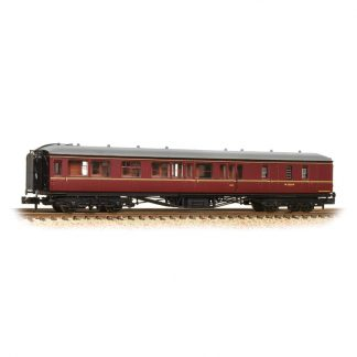 Graham Farish 374-512 Hawksworth BSK 2nd Class Brake Corridor - BR Maroon (N gauge)