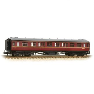 Graham Farish 374-537 Hawksworth 2nd Class Corridor - BR Maroon (N gauge)