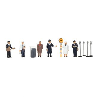 Graham Farish 379-328 1960/70s Urban Workers (6 figures - N gauge)