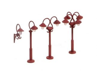 Ratio 453 Swan Necked Lamps  (OO scale plastic model)