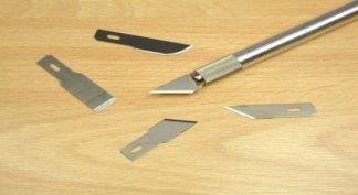 Expo 73559 Pack of 5 Assorted Blades for No.2 and No.5 knives (**Collection only**)