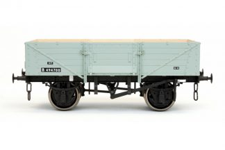 Dapol 7F-053-007 5 Plank Wagon Corrugated End BR Diag 39 Grey B494780 (O gauge)