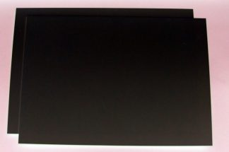 "80 thou (.080"") 2mm thick black plastic card"