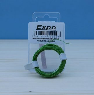 Expo A22014 Super Flexible Fine Cable (Green - 10M)