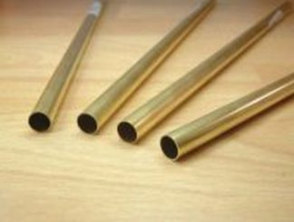 Albion Alloys BT8M Brass Tube 8.0mm x 0.45mm (2 pieces)