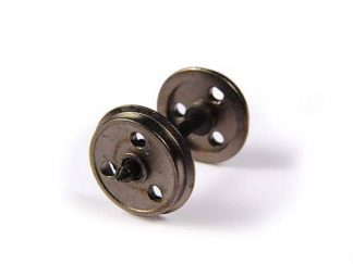 Bachmann 36-015  3 Hole Disc Metal Wheels (x10) (OO gauge)