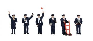 Bachmann 36-043 Station Staff (6 figures OO scale)