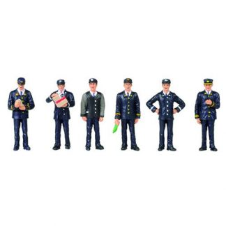 Bachmann 36-405 1960/70s Station Staff (6 figures OO gauge)