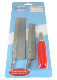 Expo 73544 Razor Saw Set - Handle and two different blades