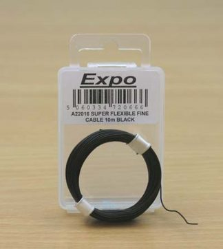 Expo A22016 Super Flexible Fine Cable (Black - 10M)