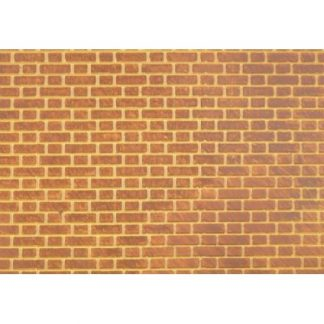 South Eastern Finecast FBS203 N 2mm Scale Flemish Bond Brick Embossed Styrene Sheet