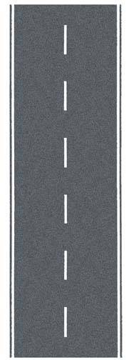 Gaugemaster GM370 Self Adhesive Tarmac Road OO Scale (1m x 80mm)