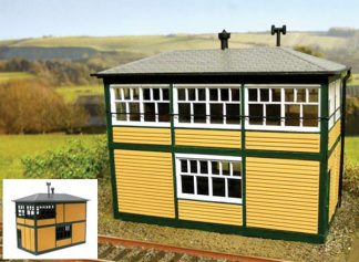 Gaugemaster GM402 Fordhampton Signal Box (OO scale plastic kit)