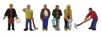 Graham Farish 379-302 Construction Workers (6 figures N gauge)