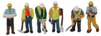 Graham Farish 379-312 Civil Engineers (6 figures N gauge)