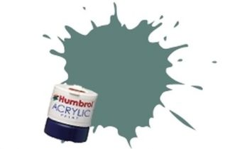 Humbrol 128 US Compass Grey Satin - Acrylic Paint 14ml