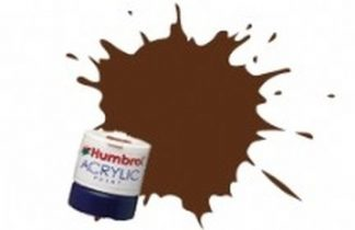 Humbrol 160 German Camouflage Red Brown Matt - Acrylic Paint 14ml
