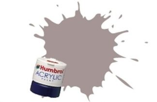 Humbrol 167 RAF Barley Grey Satin - Acrylic Paint 14ml