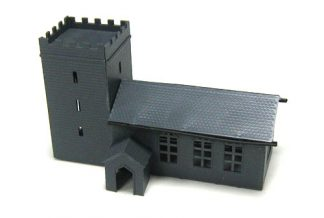 Kestrel GMKD04 Church with Porch (N gauge plastic kit)