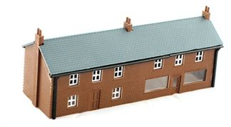 Kestrel GMKD05 House/Shop Unit with Glazing (N gauge plastic kit)