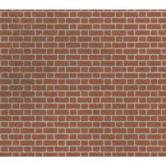Metcalfe MOO54 Red Brick Sheets (OO scale)