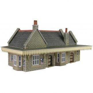 Metcalfe PN138 Stone Built Wayside Station (N scale card kit)