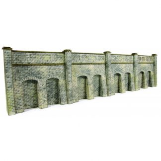 Metcalfe PN144 Retaining Wall in Stone (N scale card kit)