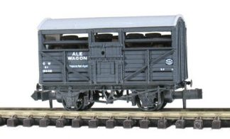Peco NR-46A Ale Wagon, GW No.38622 Dark Grey (N gauge)