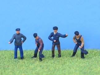 PD Marsh PDZ19 Painted Loco Crew (4 figures OO scale)