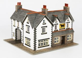 Metcalfe PN128 Coaching Inn (N scale card kit))