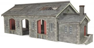 Metcalfe PO336 Settle & Carlisle Goods Shed (OO scale card kit)