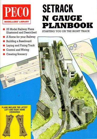 Peco IN-1 Setrack N Gauge Planbook