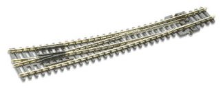 Peco SL-386 Code 80 Insulfrog Curved Right hand Turnout (N gauge)