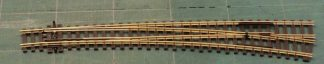 Peco SL-86  Code 100 Insulfrog Curved Right Hand Point (OO gauge)