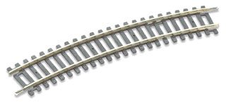 Peco ST-225 Setrack No.2 Radius Standard Curve (Equivalent to Hornby R606) (OO gauge)