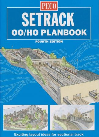 Peco STP-OO Setrack OO Planbook (4th Edition)