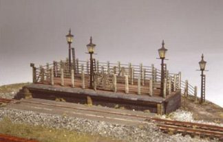 Ratio 202 Cattle Dock (N gauge kit)