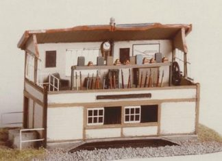 Ratio 224 Signal Box Interior (N gauge kit)