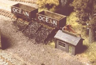 Ratio 229 Coal Depot (N gauge kit)