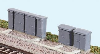 Ratio 257 Relay Boxes (N gauge plastic kit)