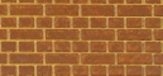 South Eastern Finecast FBS402 OO 4mm Scale English Bond Brick Embossed Styrene Sheet