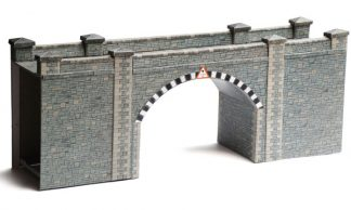 Superquick A16 Stone Bridge/Tunnel (OO gauge card kit)
