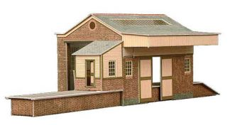 Superquick A7 Goods Depot (OO scale card kit)