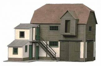 Superquick B26 Farm Hay Loft or Barn (OO scale card kit)
