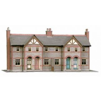 Superquick B30 Four Terraced Cottages (OO scale card kit)