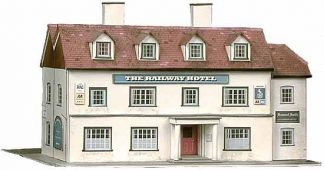 Superquick B33 The Railway Hotel (OO card kit)