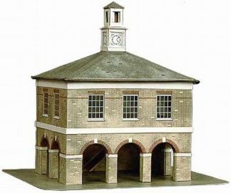 Superquick B35 Market House (OO card kit)