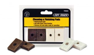 Woodland Scenics TT4553 Cleaning & Finishing Pads