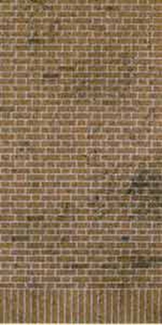 Superquick D1 Red Brick Building Papers (OO scale)